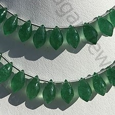 Green Strawberry Quartz Chandelier Briolette