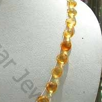 wholesale Citrine Gemstone  Heart Briolette