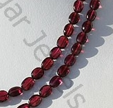 aaa Rhodolite Garnet  Oval Faceted