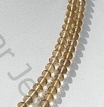 aaa Champagne Citrine  Faceted Rondelle