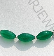 aaa Green Onyx Gemstone Dholki Beads