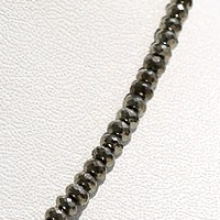 aaa Pyrite Beads  Faceted Rondelles