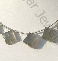 wholesale Grey Moonstone Clove Beads