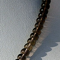 aaa Smoky Quartz Gemstone Plain Beads