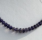 wholesale Iolite Gemstone Plain Beads