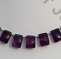 wholesale Amethyst Gemstone Fancy Cut