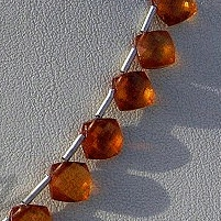 aaa Spessartite Gemstone Cushion Beads