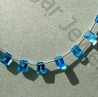 wholesale Blue Topaz Gemstone Octagons