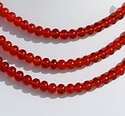 wholesale Carnelian Gemstone Plain Beads