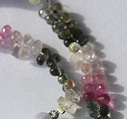 wholesale Multi Sapphire Gemstone  Tear Drops Briolette