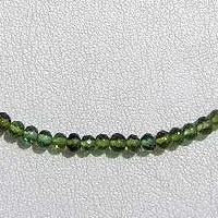 wholesale Tourmaline Gemstone Beads  Faceted Rondelles