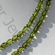 aaa Vesuvianite Oval Faceted