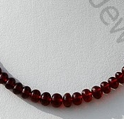 wholesale Garnet Gemstone Plain Beads