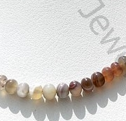 wholesale Botswana Agate Gemstone Plain Beads