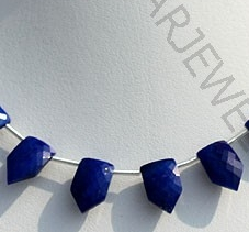 wholesale Lapis Pentagon Shape Beads