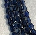 16 inch strand Kyanite Gemstone Oval Faceted