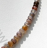 aaa Botswana Agate Gemstone Plain Beads