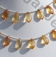 wholesale Imperial Topaz Dolphin Briolette