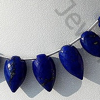 aaa Lapis Gemstone Conch Briolette