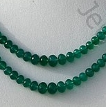 wholesale Green Onyx Faceted Rondelle