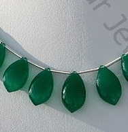 wholesale Green Onyx Gemstone Dolphin Shape Beads