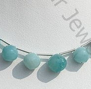 wholesale Amazonite Onion Shape Beads