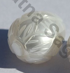 aaa Fresh Water Pearl Half Drilled Gemstone