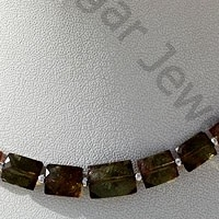 aaa Andalusite Gemstone  Faceted Rectangles