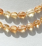 wholesale Imperial Topaz  Oval Faceted