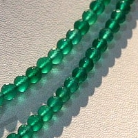 aaa Green Onyx  Faceted Rounds