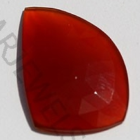 aaa Carnelian Gemstone Rose Cut Slice
