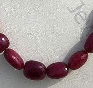 wholesale Ruby Faceted Nugget