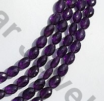 aaa Amethyst Gemstone Oval Faceted