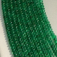 wholesale Emerald Gemstone Plain Rondelle