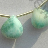 wholesale Larimar Gemstone Heart Plain