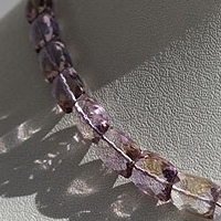 aaa Ametrine Gemstone Beads  Faceted Rectangles