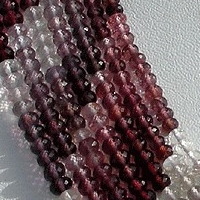 wholesale Multi Spinel  Faceted Rondelles