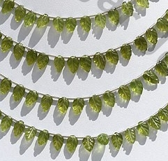 wholesale Vesuvianite Carved Leaf