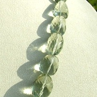 aaa Green Amethyst Gemstone Faceted Nugget