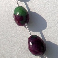 wholesale Ruby Zoisite  Faceted Nuggets
