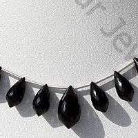 aaa Black Spinel  Chandelier Briolette
