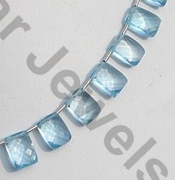 aaa Blue Topaz Fancy Cut