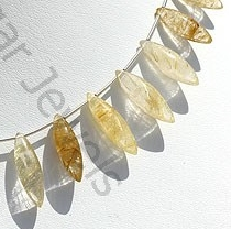 aaa Golden Rutilated Quartz Dew Drops