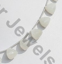 aaa White Moonstone Faceted Chestnut