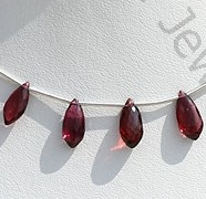 wholesale Rhodolite Garnet Dolphin Shape Beads