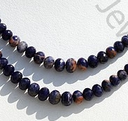 wholesale Sodalite Gemstone Faceted Rondelle