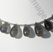 wholesale Labradorite Gemstone Tear Drops Briolette