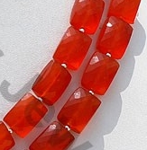 aaa Carnelian Gemstone Faceted Rectangle