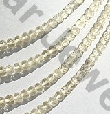 aaa Scapolite Gemstone Faceted Rondelles