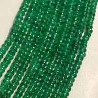 aaa Emerald Gemstone Plain Rondelle